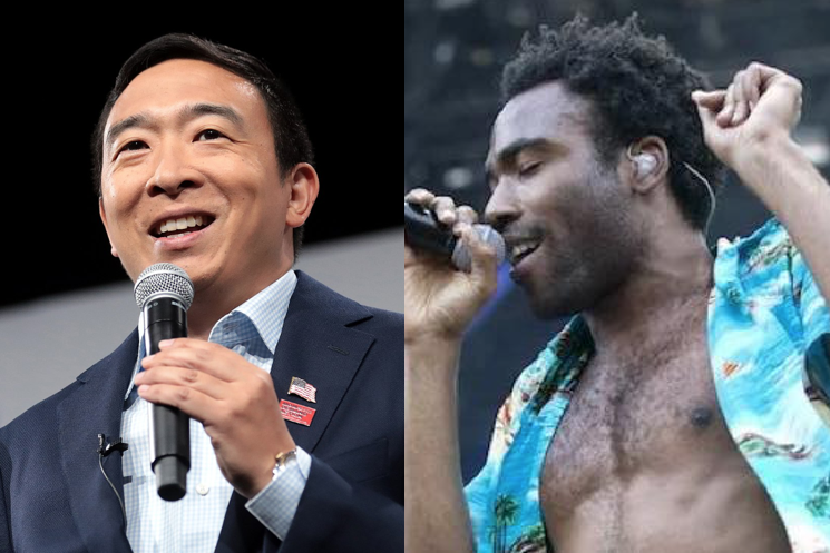 Donald Glover Is Raising Money for Andrew Yang's Presidential Campaign