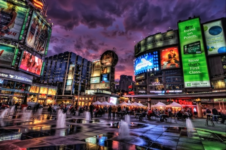 Yonge-Dundas Square Celebrates 10th Anniversary with Concert Series Featuring Plants and Animals, Cadence Weapon, the Pack A.D.