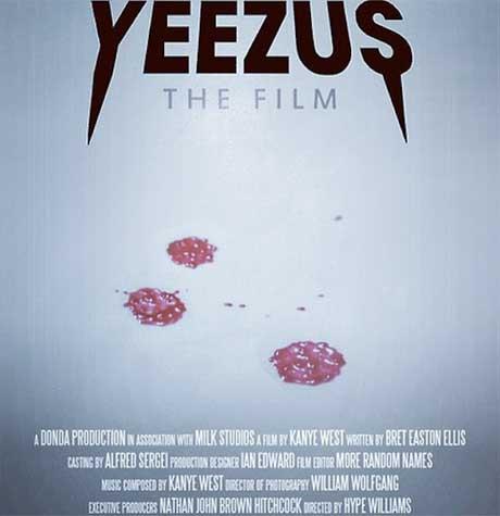Poster for Kanye West's 'Yeezus' Film Emerges Online, Reveals Bret Easton Ellis Involvement