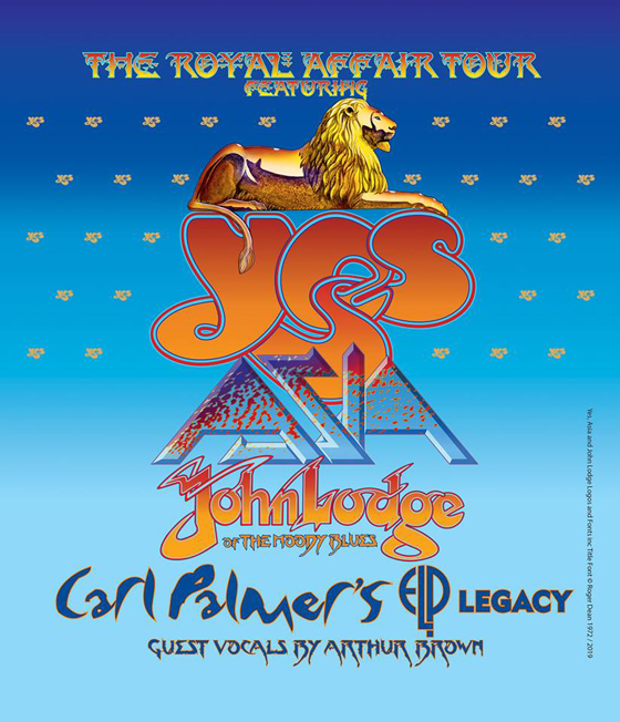 "Yes Plot ""The Royal Affair Tour"" with Asia, Moody Blues' John Lodge"