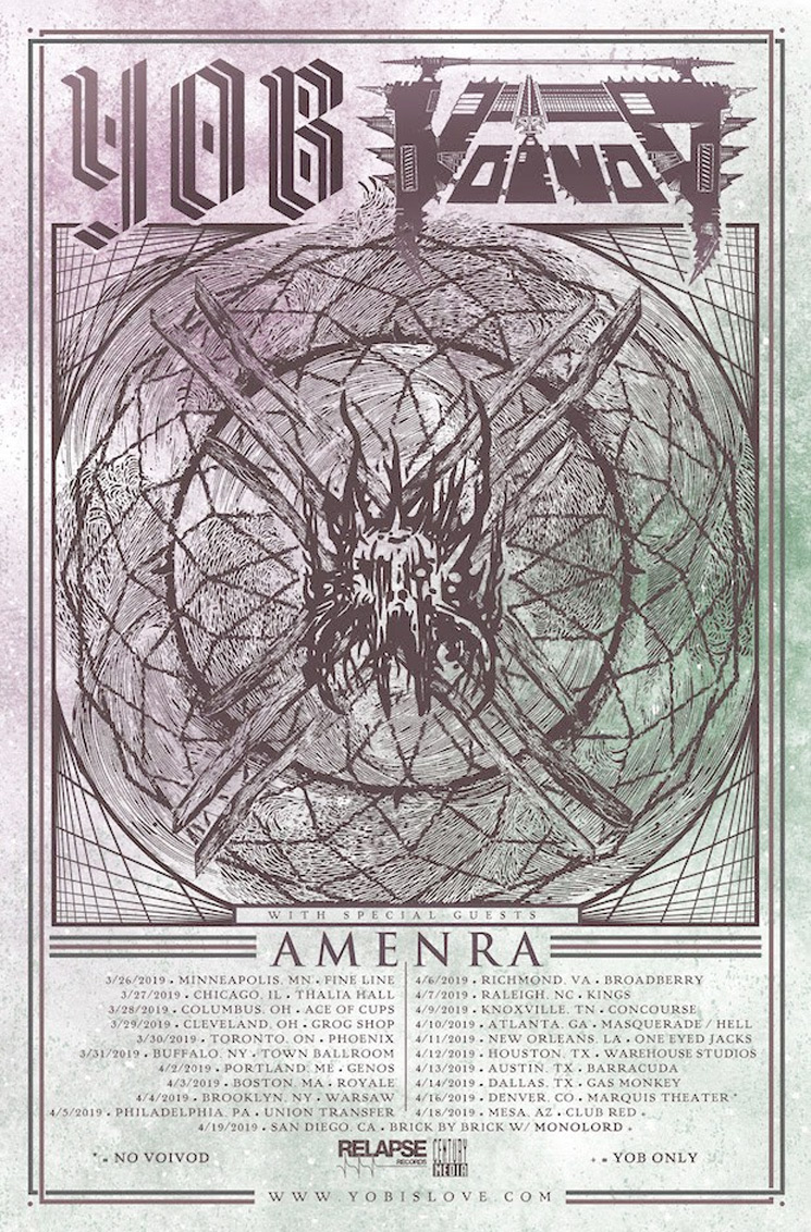 YOB and Voivod Team Up for North American Tour