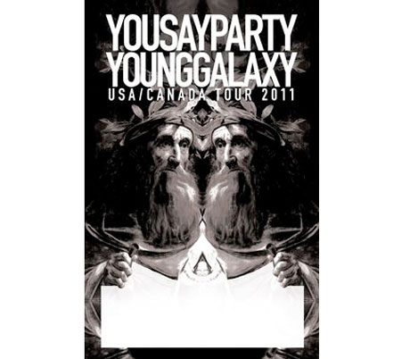 You Say Party and Young Galaxy Team Up for Canada/U.S. Tour
