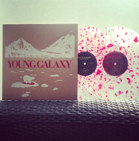 Young Galaxy Prep Deluxe Vinyl Edition of 'Invisible Republic'