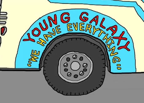 "Young Galaxy ""We Have Everything"" (video)"