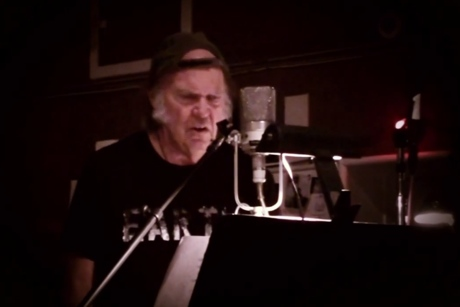 Neil Young 'Who's Gonna Stand Up?' (video)