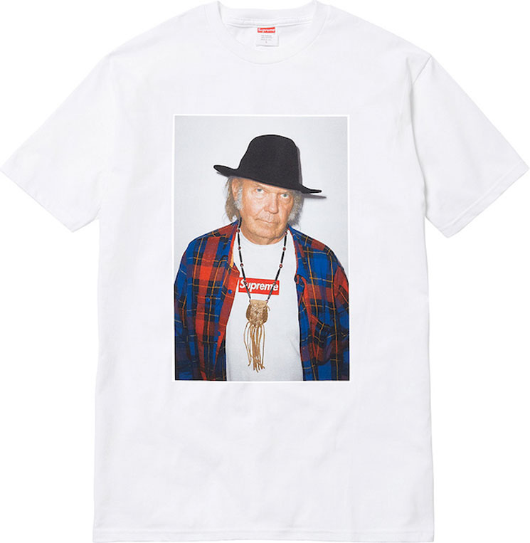 Want to Spend Stupid Money on Neil Young's Supreme Merch? You're in Luck