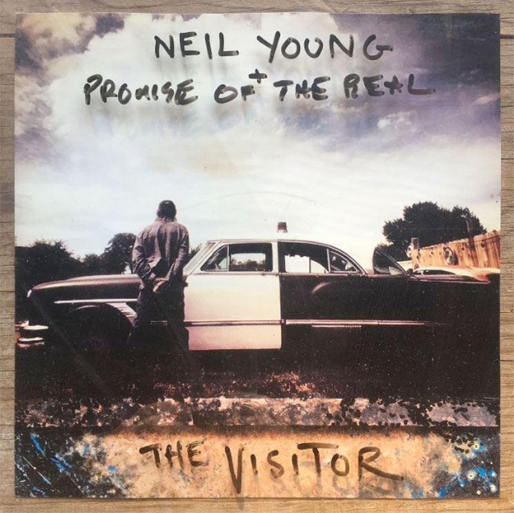 "Neil Young Announces New Album 'The Visitor,' Shares ""Already Great"""