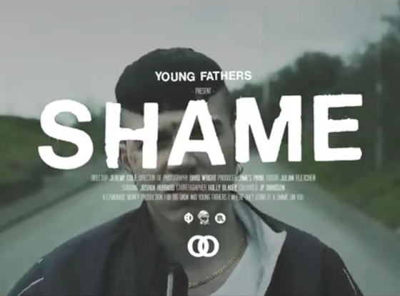 "Young Fathers ""Shame"" (video)"