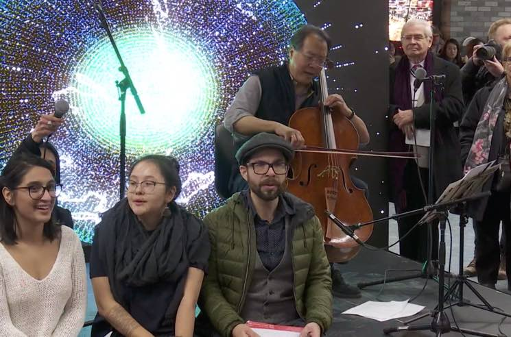 "Watch Yo-Yo Ma Play Leonard Cohen's ""Hallelujah"" at a Montreal Metro Station"