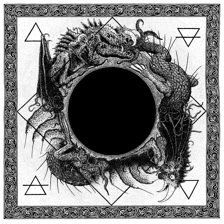 Ysengrin / Black Grail Nigrum Nigrius Nigro Split LP