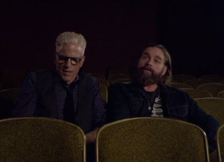 The National 'Mistaken for Strangers: The Play' (ft. Zach Galifianakis and Ted Danson)