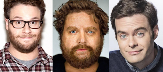 Seth Rogen, Zach Galifianakis and Bill Hader Join Forces for Space Comedy