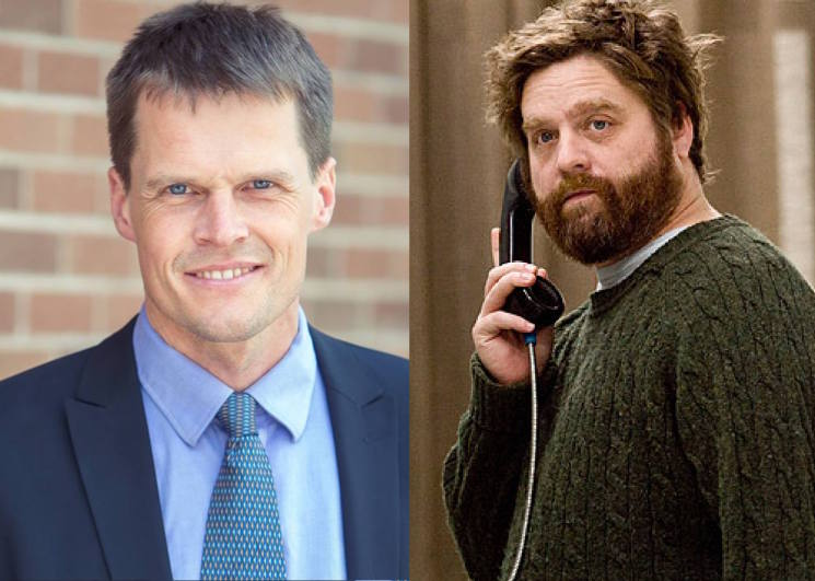 Zach Galifianakis Endorsed Saskatoon's New Mayor