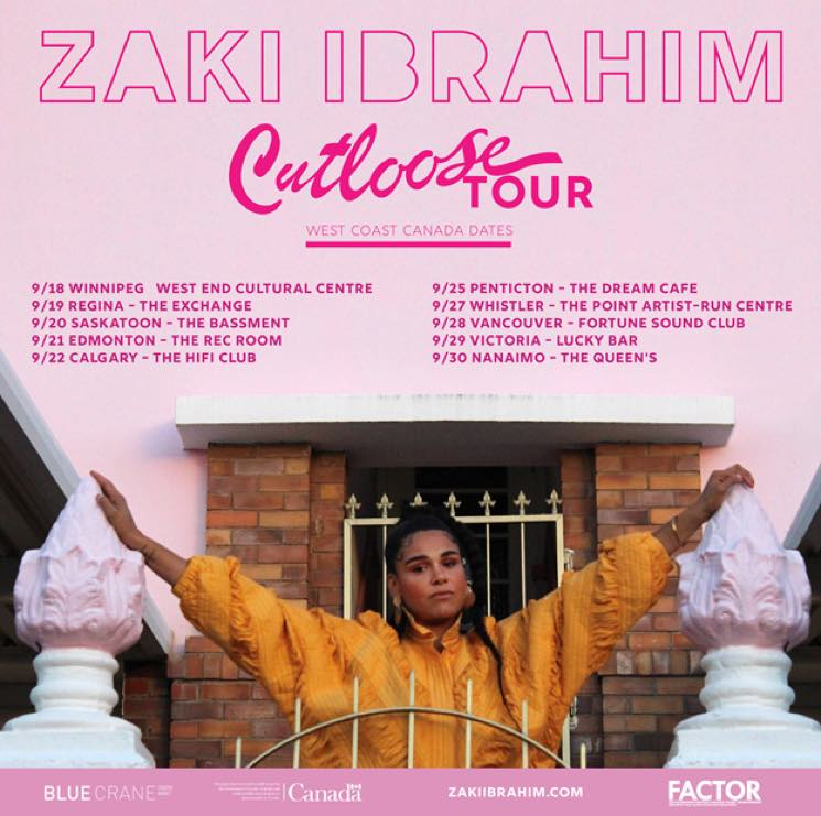 "​Zaki Ibrahim Maps Out Western Canadian ""Cutloose"" Tour"