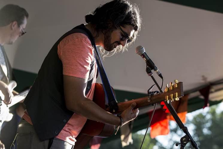 Mohsin Zaman Edmonton Folk Music Festival, Edmonton AB, August 11