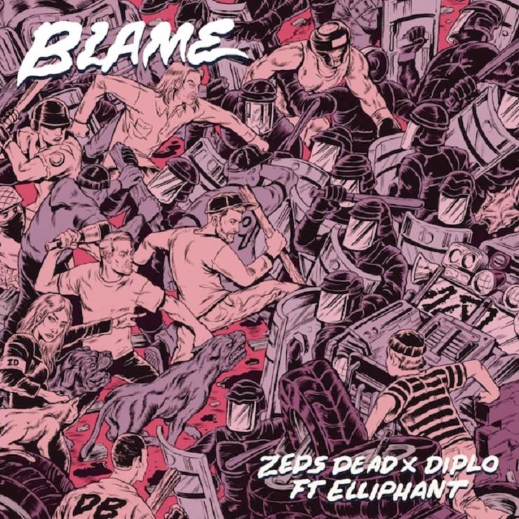"""Zeds Dead """"Blame"""" (ft. Diplo & Elliphant)"""
