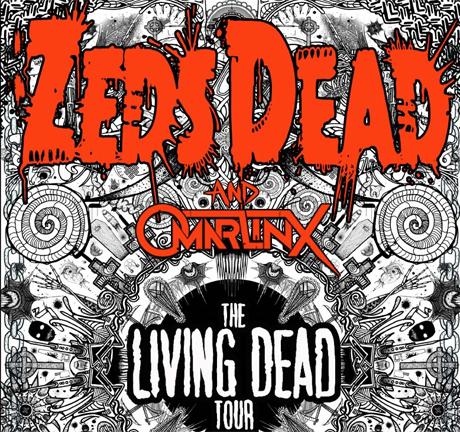 "Zeds Dead Bring ""Living Dead Tour"" to Canada and the U.S. with Omar Linx, AraabMuzik"