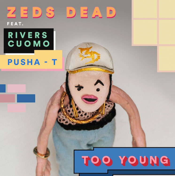 Hear Zeds Dead, Pusha T and Weezer's Rivers Cuomo Join Forces for 'Too Young'