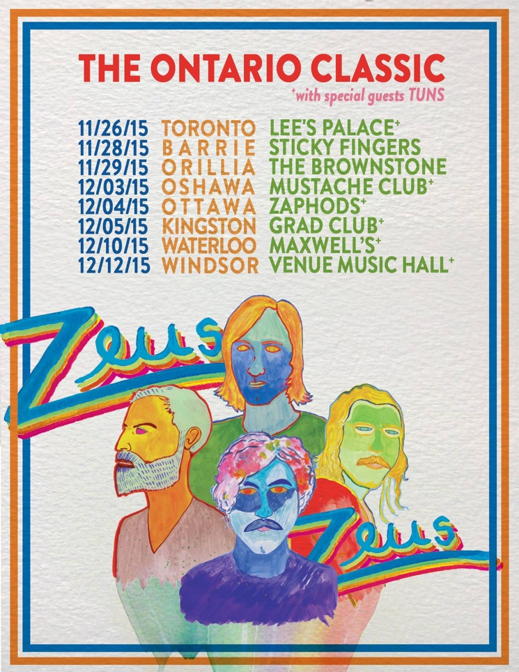 "Zeus Announce ""The Ontario Classic"" Tour"