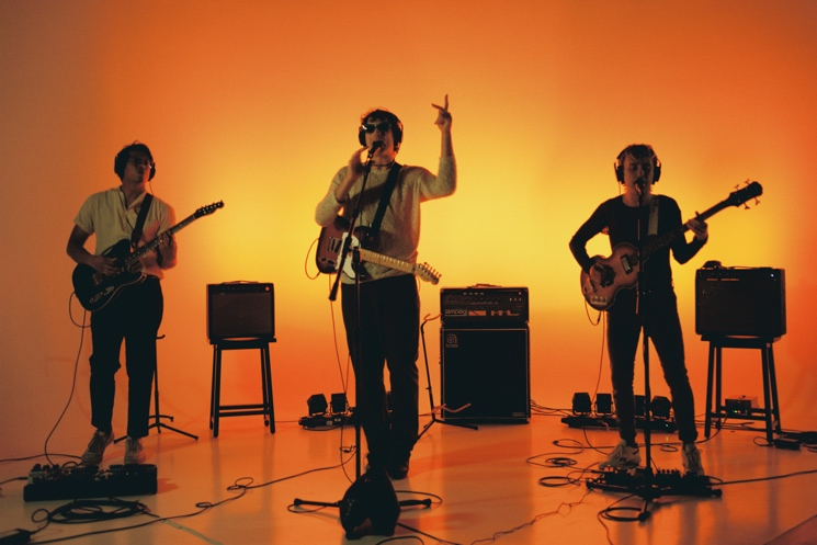 The Zolas Turn Tangerine in 'I Feel the Transition' Performance Video