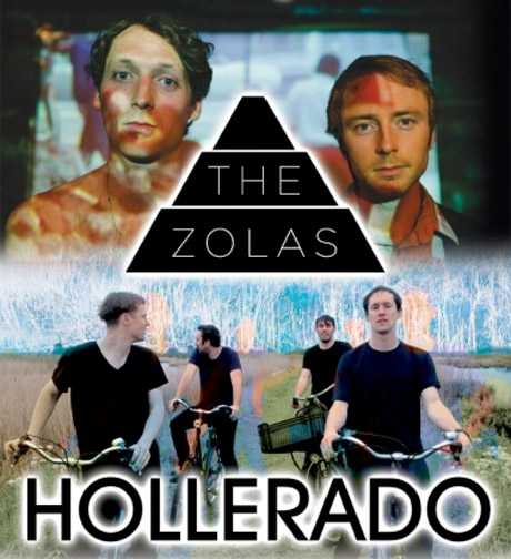 Hollerado and the Zolas Join Forces for North American Tour