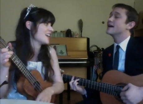 "Zooey Deschanel & Joseph Gordon-Levitt ""What Are You Doing New Year's Eve?"" (Ella Fitzgerald cover)"