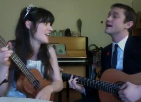 Zooey Deschanel & Joseph Gordon-Levitt 'What Are You Doing New Year's Eve?' (Ella Fitzgerald cover)