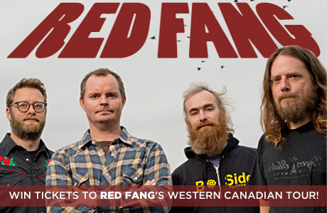 Red Fang Western Canadian Tour