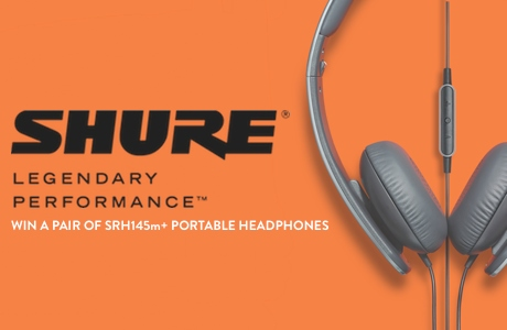 Shure SRH145m+ Headphones
