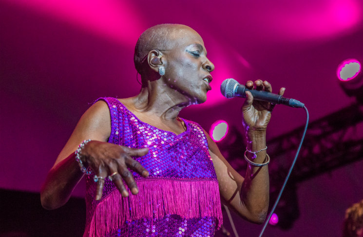 Sharon Jones & the Dap-KingsConfederation Park Main Stage, Ottawa ON, June 26