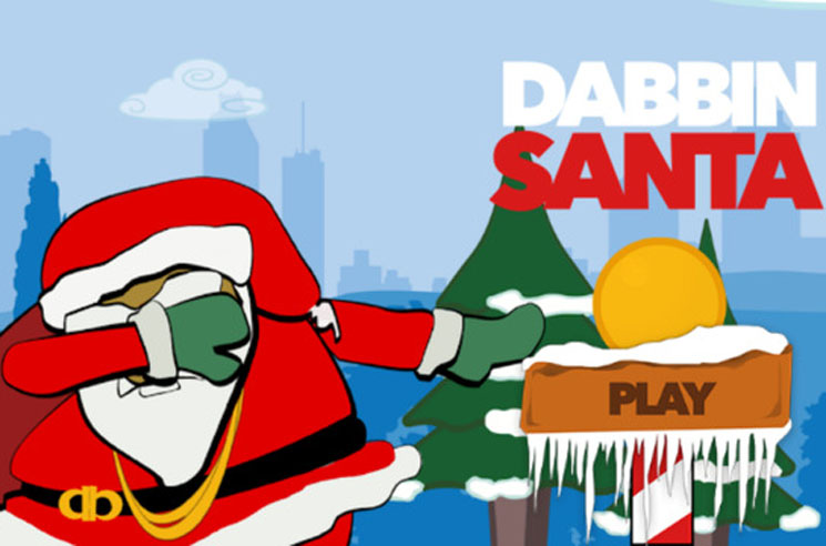 2 Chainz Conquers Christmas With Dabbin Santa