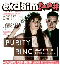 Purity Ring, Modest Mouse and Tobias Jesso Jr. Fill Exclaim!'s April Issue
