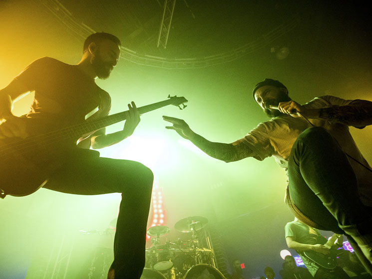 Relive August Burns Red's Edmonton Tour Stop in Photos