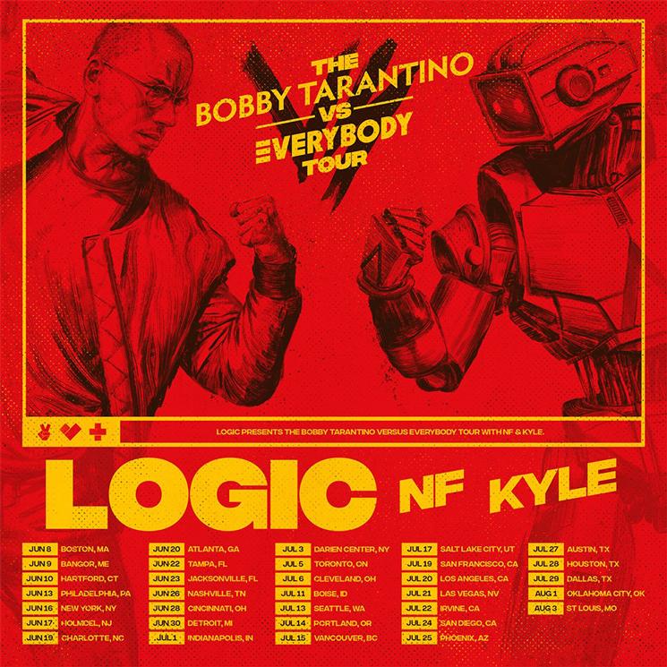 Logic Maps Out The Bobby Tarantino Vs Everybody Tour