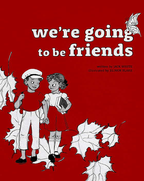Jack White to release children's book inspired by The White Stripes