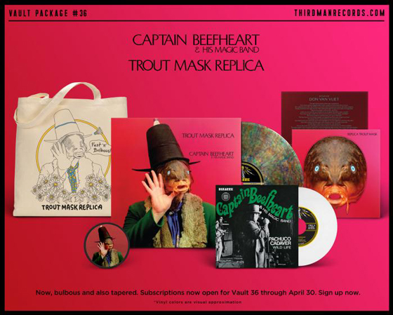Captain Beefheart's 'Trout Mask Replica' Gets Third Man Reissue