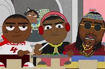 "YG ""Big Bank"" (ft. 2 Chainz, Big Sean & Nicki Minaj) (lyric video)"