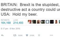 This Funny Week in Funny Tweets: November 10, 2016