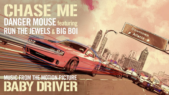 Danger Mouse - Chase Me ft. Run The Jewels & Big Boi