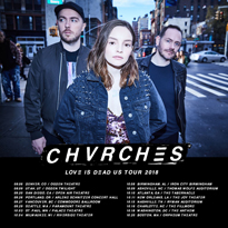 Chvrches Map Out North American Tour
