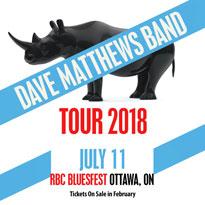 Dave Matthews Band to Play Ottawa's RBC Bluesfest