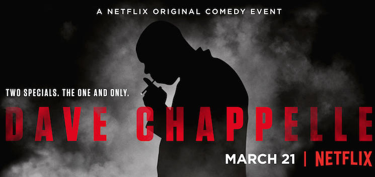 Dave Chappelle Talks O.J. and ISIS in Trailer for New Netflix Specials