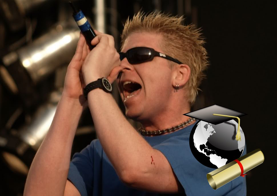 The Offspring guitarist receives PhD in Molecular Biology, writes 183-page dissertation