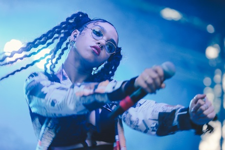 FKA twigsBlue Stage, Union Park, Chicago IL, July 19