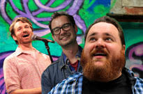 K. Trevor Wilson, Fraser Young, and Jordan Foisy Cook Up Some Funny at the Comedy Records/Exclaim! Standup Showcase