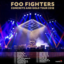 Foo Fighters Map Out 2018 North American Tour