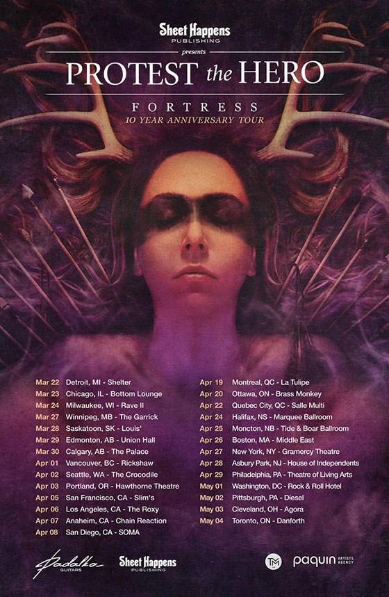 Protest The Hero Take Fortress On 10th Anniversary Tour