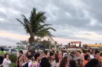 Bahamas's Luxury Fyre Festival Descends into