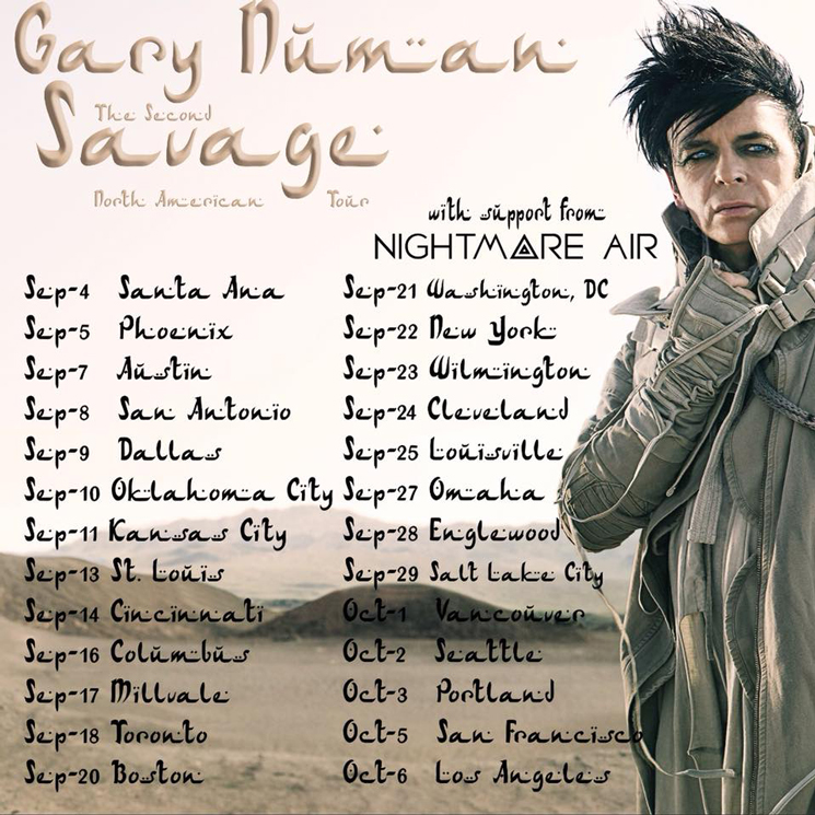 Gary numan maps out north american tour m4hsunfo
