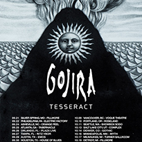 Gojira Announce North American 'Magma' Tour with TesseracT